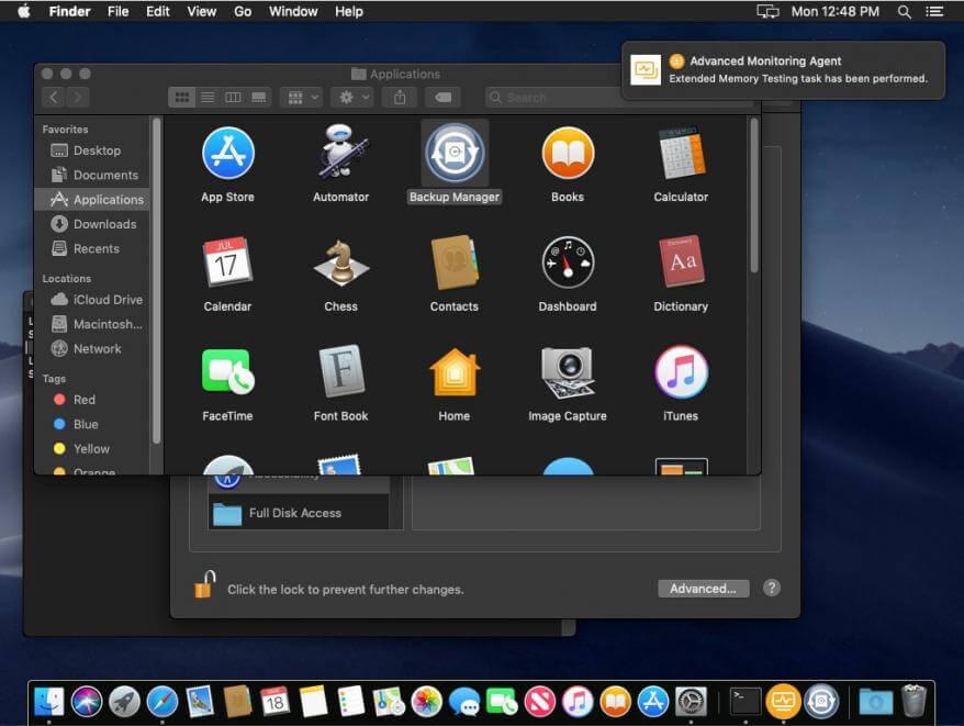 aplicacion escritorio mac solarwinds rmm